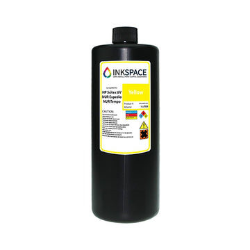 HP Scitex & NUR Expedio Tempo Compatible UV Ink (1000 mL)  - Yellow