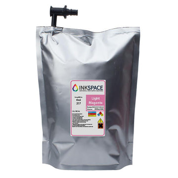 Oce Arizona IJC-257 Compatible UV Ink (2000 mL) - Light Magenta