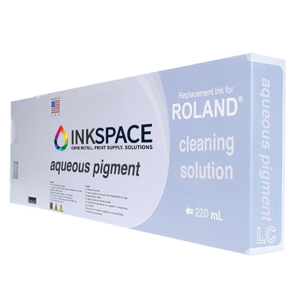 Roland FPG Aqueous Pigment Ink (220 mL) - Cleaning Solution - dtg.ink.space