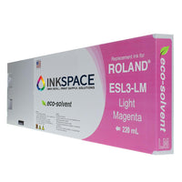 Roland ESL3 Eco-Sol Max Compatible Eco-Solvent Ink (220 mL) - Light Magenta - dtg.ink.space