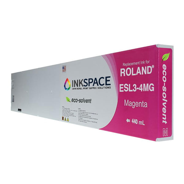 Roland ESL3 Eco-Sol Max Compatible Eco-Solvent Ink (440 mL) - Magenta - dtg.ink.space