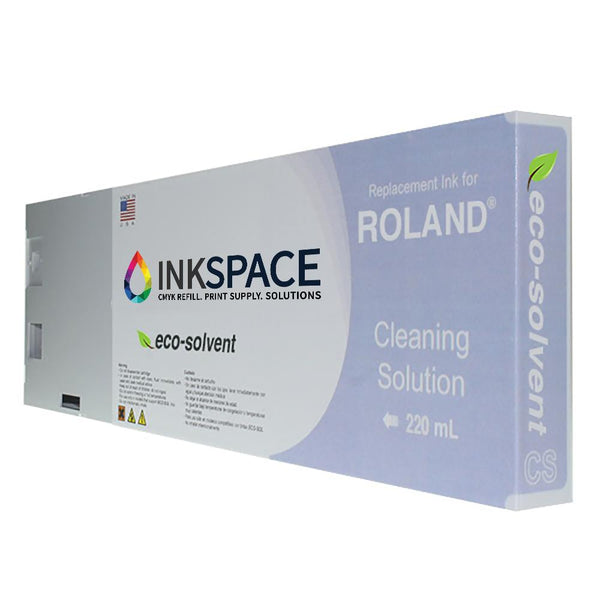 Roland ESL3 & ESL4 Eco-Solvent Cleaning Solution (220 mL) - dtg.ink.space