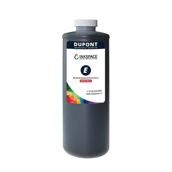 Dupont Artistri P5000 Epson Based DTG Printer Ink Bottle (250 mL) - Black - dtg.ink.space