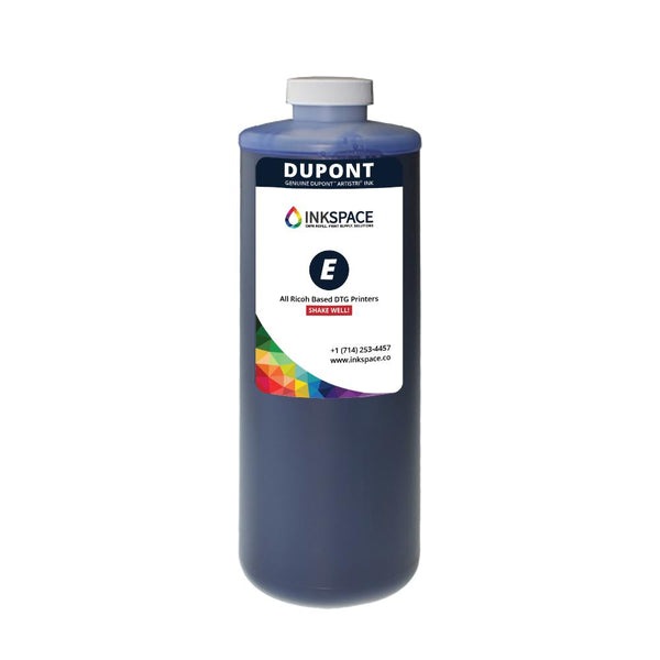 Dupont Artistri P5000 Epson Based DTG Printer Ink Bottle (1000 mL) - Cyan - dtg.ink.space