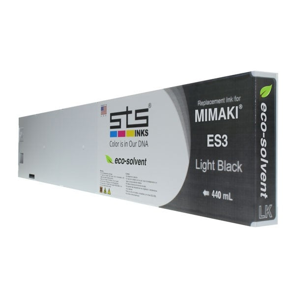 Mimaki ES3 Eco-Solvent Compatible Ink (440 mL) - Light Black - dtg.ink.space