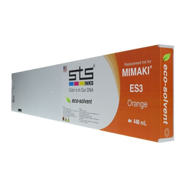 Mimaki ES3 Eco-Solvent Compatible Ink (440 mL) - Orange - dtg.ink.space