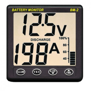 Clipper BM-2 Battery Monitor w/Shunt - 200Amp