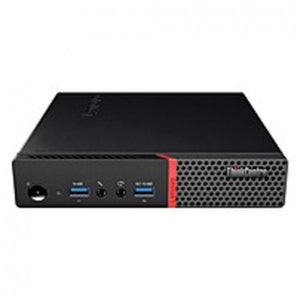 Lenovo ThinkCentre M715q 10RB000FUS Tiny Thin Client - AMD A-Series (6th Gen) A6-8570E Dual-core (2 Core) 3 GHz - 4 GB RAM DDR4 SDRAM - 32 GB SSD - AMD Radeon R5 Graphics - Gigabit Ethernet - Windows 10 IoT Enterprise - Wireless LAN - Bluetooth - DisplayP