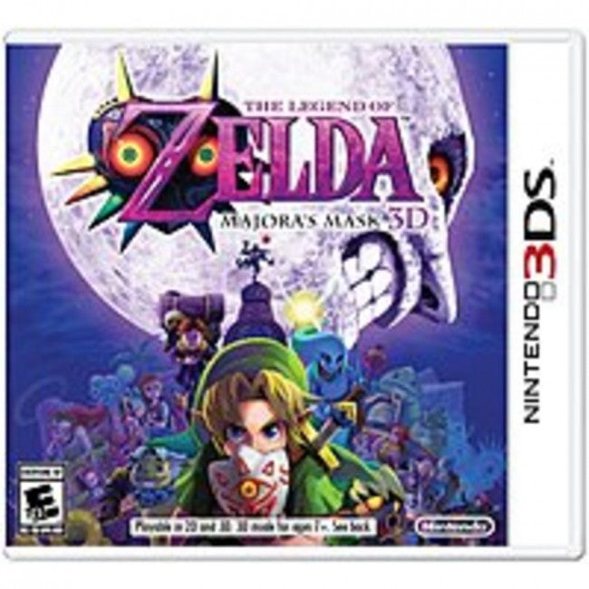 Nintendo The Legend of Zelda: Majoras Mask 3D - Action/Adventure Game - Nintendo 3DS