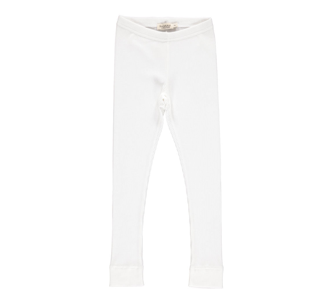 MARMAR COPENHAGEN - LEG Pants Basic, Gentle White