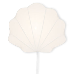 KONGES SLØJD - FABRIC LAMP CLAM, White
