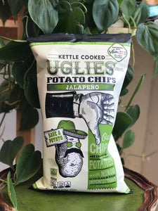 Uglies Jalapeno Kettle Chips 6oz