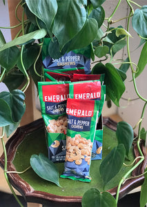 Emerald Sea Salt & Pepper Cashews