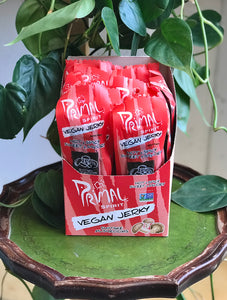 Primal Strips Hot and Spicy Shiitake Jerky