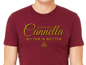 "Amaro Cannella ""Bitter is Better"" Tee"