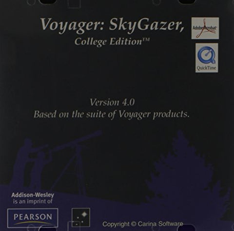 Voyager: Skygazer V4.0 College Edition Cd-Rom