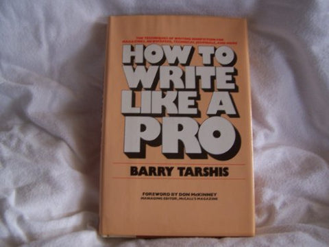 How To Write Like A Pro