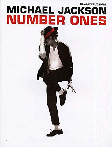 Michael Jackson Number Ones Piano Vocal Chords (Pvg)