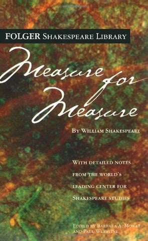 Measure For Measure (Folger Shakespeare Library)