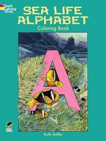 Sea Life Alphabet Coloring Book (Dover Nature Coloring Book)