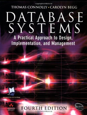 Database Systems: A Practical Approach To Design, Implementation And Management (4Th Edition)