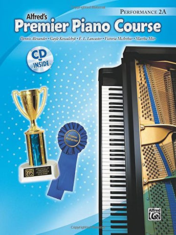 Premier Piano Course Performance, Bk 2A: Book & Cd
