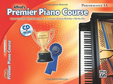Premier Piano Course Performance, Bk 1A: Book & Cd