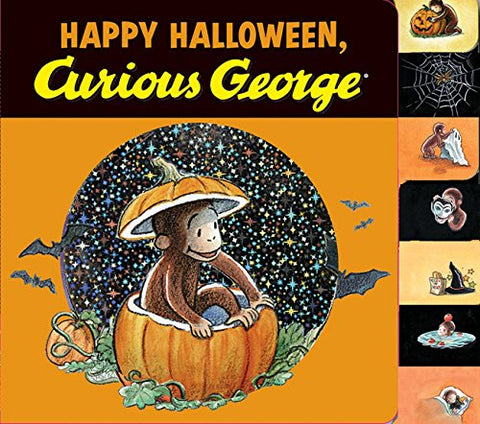 Happy Halloween, Curious George Tabbed Board Book
