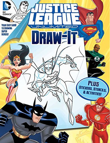 Dc Justice League: Draw It (Love To Draw)