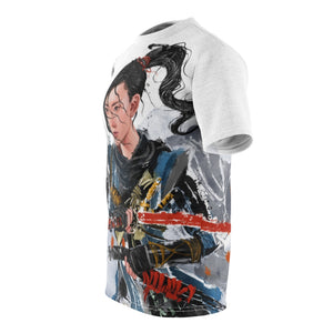 [No Mask] Ghost of Tsushima Unisex T-Shirt - Haze Long Fine Art & Resources Store