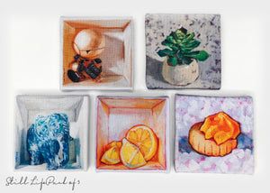 Handmade Fridge Magnets by Haze Long - Haze Long Fine Art and Resources Store
