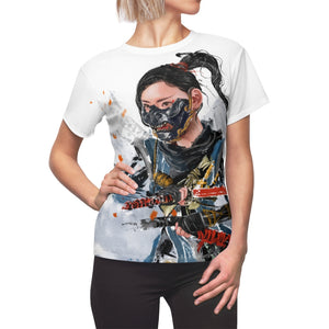 Ghost of Tsushima Women T-Shirt - Haze Long Fine Art & Resources Store