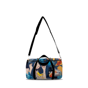 Goldfish Medley Duffle Bag - Haze Long Fine Art & Resources Store