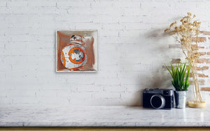 Bb8 in a box - Canvas Print - Haze Long Fine Art & Resources Store