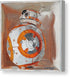 Bb8 in a box - Canvas Print