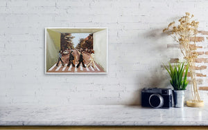 Beatles Abbey Road - Canvas Print - Haze Long Fine Art & Resources Store
