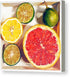 Citrus Medley in a box - Canvas Print