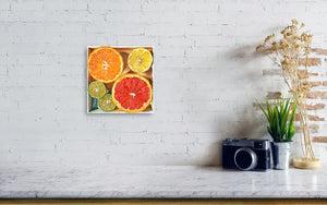 Citrus Medley in a box IV - Canvas Print - Haze Long Fine Art & Resources Store