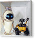 Eve and Wall-E Happily Ever After - Canvas Print