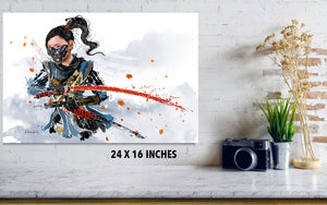 Ghost of Tsushima Print - Haze Long Fine Art & Resources Store