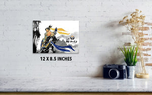 Hanzo Overwatch - Poster - Haze Long Fine Art and Resources Store