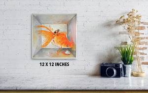 Juxtaposition Box - Canvas Print - Haze Long Fine Art & Resources Store