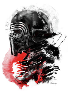 Kylo Ren - Poster - Haze Long Fine Art & Resources Store