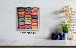 Macarons in a box IV - Canvas Print - hazelong-com