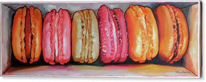 Macarons in a box III - Canvas Print - Haze Long Fine Art and Resources Store
