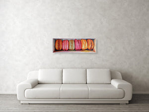 Macarons in a box III - Canvas Print - Haze Long Fine Art & Resources Store