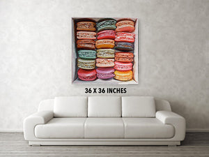 Macarons in a box IV - Canvas Print - Haze Long Fine Art & Resources Store