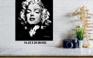 Marilyn Monroe - Poster - Haze Long Fine Art & Resources Store