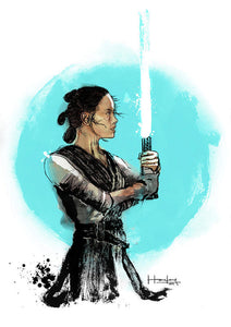 Rey - Poster - Haze Long Fine Art & Resources Store