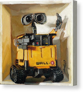Wall-E in a box - Canvas Print - Haze Long Fine Art and Resources Store